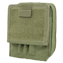 Condor MA35 MOLLE Modular MOD Tactical Map ID Admin Chart Pouch- OD Green/ Black/ Tan
