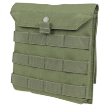 "Condor MA75 Side Ballistic Plate Pouch MOLLE 8""x8"" Body Armor Carrier- OD Green/ Black/ Coyote Brown"