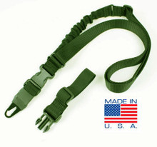 Condor US1021 VIPER  Tactical Single Bungee One Point Mamba Rifle Sling- OD Green/ Black/ Tan