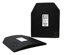 "AR500 Armor® 10"" x 12"" Curved Patented Advanced Shooters Cut (ASC) Level III Body Armor Plate"
