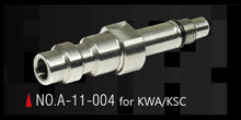 Action Army Stately Steel CNC HPA Adapter Nozzle Valve (US) for KWA / KSC GBB