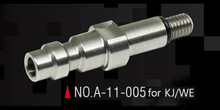 Action Army KJW / WE GBB Stately Steel CNC HPA Adapter Nozzle Valve (US)