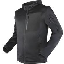 Condor 101136 Cirrus Technical Fleece Jacket-Black/ Heather Grey