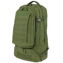 Condor 111134 Trekker 3-in-1 travel backpack - OD Green/Black/Coyote Brown