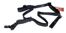 Lancer Tactical Three Point Bungee Tactical Rifle Sling - Black - CA-327B
