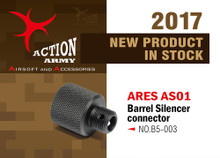 Action Army  ARES Amoeba AS01 Strike S1 Silencer  Connector