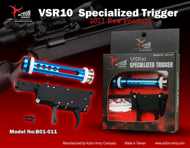 """Action Army VSR 10 Specialized """"Zero"""" Airsoft Trigger Set"""