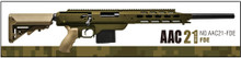 Action Army AAC 21 Gas Sniper Rifle Airsoft Gun- FDE