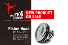 Action Army AEG Airsoft Single O-Ring Piston Head for AEG Gearbox