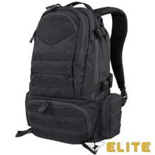 Condor 111073 Tactical Elite Titan Assault Hiking Travel Combat Backpack- Black/ Brown