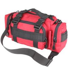 Condor 127 Deployment Bag MOLLE Shoulder Strap Carrying Handle- OD Green/ Black/ Tan/ Red