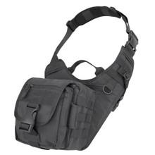 Condor 156 Tactical Molle EDC EveryDay Carry Military Shoulder Bag - OD Green/ Black/ Tan