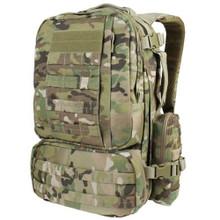 Condor 169-008 Tactical MOLLE Modular CONVOY Outdoor Hiking Backpack – Multicam