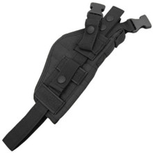 Condor ASH Tactical Vertical Ambidextrous Holster Pistol Mag Pouch 1911 Glock - Black/ Tan