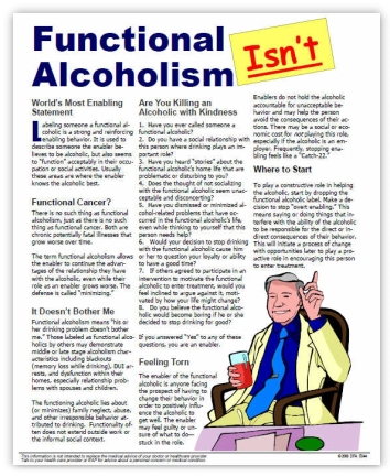 Myth of Functional Alcoholism for Training DOT Supervisors
