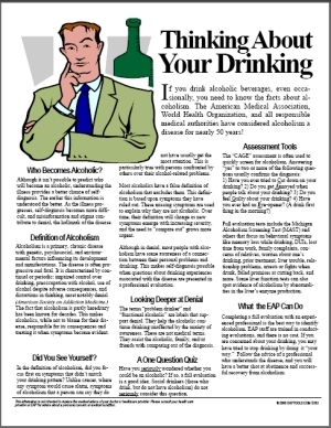 Thinking About Your Drinking in DOT Supervisor Training