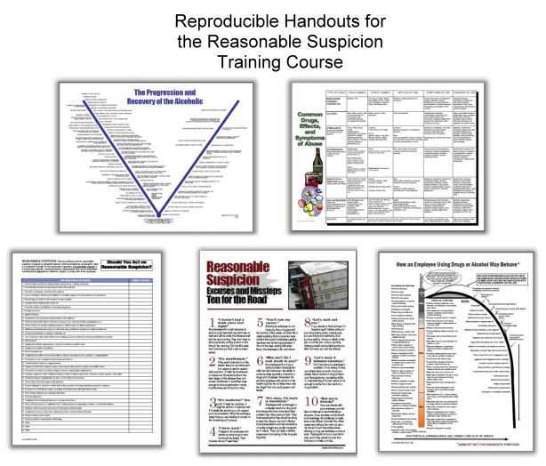 Reasonable Suspicion Training Handouts