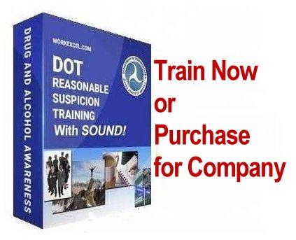 Reasonable Suspicion Training Course for DOT Compliance