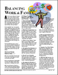 E001 Workplace Wellness Program Resource: Balancing Work Family