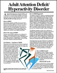 Image for Adult Attention/Hyperactivity Disorder (AD/HD)