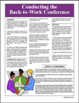 V009 Back to Work Conference Guidelines