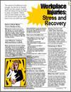 Image for Workplace Injuries: Stress and Recovery