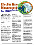 E052 Effective Time Management for Supervisors