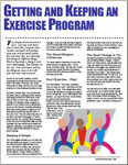 Getting+and+Keep+an+Exercise+Program