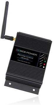 Side-Power Receiver Box only for Radio Remote or Radio Link SM8986 and SM8981