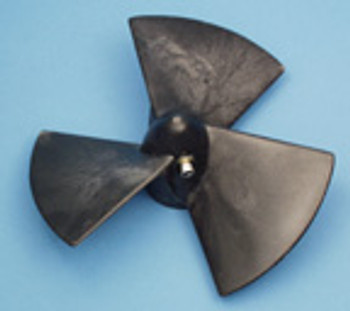 3-Blade Composite Propeller For old 4HP Thrusters with 12mm shaft and set screw