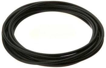 "Tubing black 1/4"" (soft) for non-pressurized apps. (exterior) - per meter"