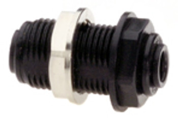 """Quick-connect bulkhead connector (up to 1/2"""" bulkheads only)"""