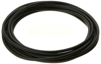 "Tubing, black, 1/4"" (hard) for quick-connect fittings (interior) - per meter"