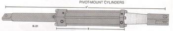 "Hynautic K-31 Pivot Mount 200-10"" Stroke Hydraulic Marine Cylinder"