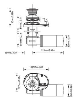 LW7911LP Dimensional Drawing