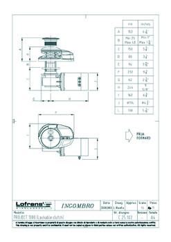 LW7921LP Dimensional Drawings