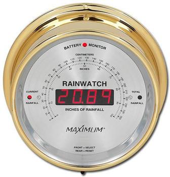 Rainwatch – Brass case, Silver dial