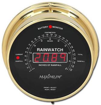 Rainwatch – Brass case, Black dial