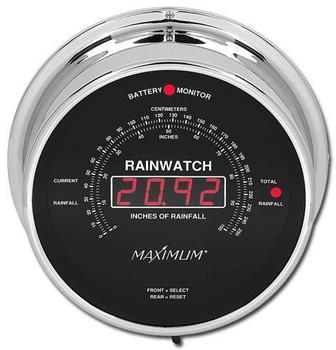 Rainwatch – Chrome case, Black dial