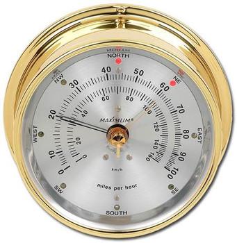 Wireless Maestro – Brass case, Silver dial