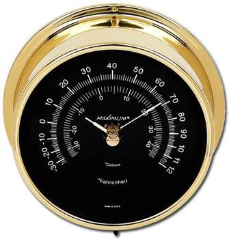 Wireless Mini-Max – Brass case, Black dial
