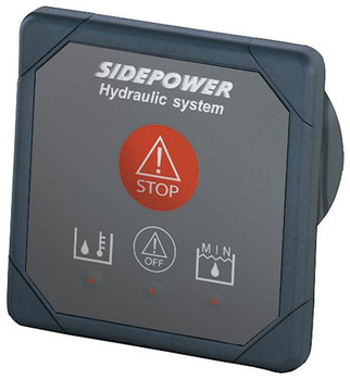 Hyd Warning Info & Emergency Shut Down Panel, 24V SM8980-24V