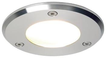 Prebit Emden Large ILPB23304105 LED Slave Downlight - Stainless Steel Warm White