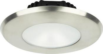 Imtra Sigma Large ILIM32121 PowerLED Downlight - Brushed Stainless Warm White