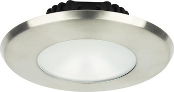 Imtra Sigma Large ILIM32131 PowerLED Downlight - Brushed Stainless Cool White