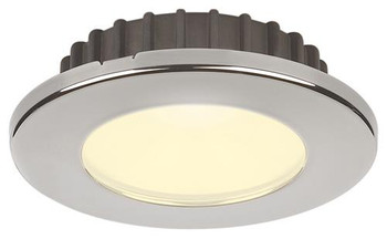 Hatteras PowerLED, 10-30VDC, Stainless Steel Warm White