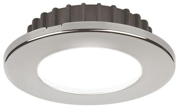 Hatteras PowerLED, 10-30VDC, Cool White Stainless Steel