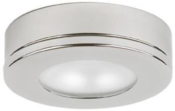 Hatteras PowerLED with Base, 10-30VDC, Warm White Stainless Steel