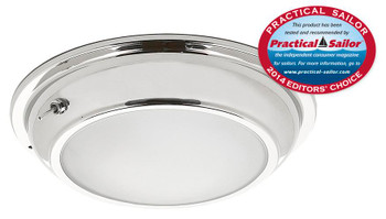 Imtra Gibraltar ILIM10511 PowerLED Downlight - Stainless Steel Cool White w/ Switch