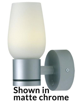 Bonn, White Shade, 11-30VDC  Chrome WARM IP20 ILPB20012405